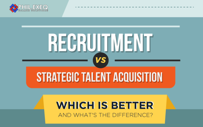Recruitment vs Strategic Talent Acquisition – Which is Better- featured