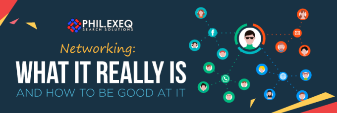 Networking: What it Really Is and How to Be Good at It(Infographic)